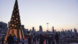 Lübnan'daki Noel etkinliklerinde Beyrut Limanı patlamasının kurbanları unutulmadı