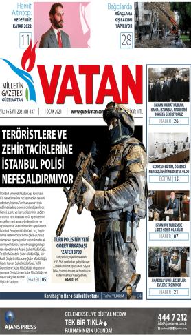 Güzel Vatan Gazetesi Sayı:136