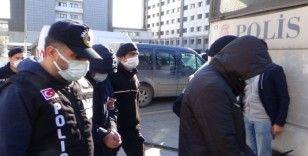 SBK Holding'e yönelik 'kara para' soruşturmasında yakalanan şüpheliler adliyeye sevk edildi