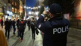Yılbaşına saatler kala Taksim önceki yılları aratmadı
