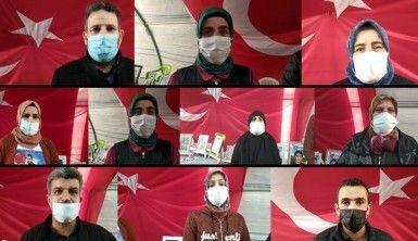 Evlat nöbeti tutan ailelerden Gün Medya'ya, Cengiz Aygün'e ve Bakan Soylu'ya teşekkür