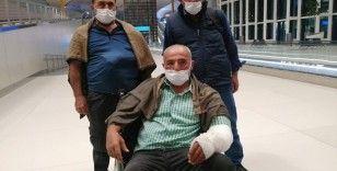 Somali'deki terör saldırısında hayatını kaybeden Türk işçilerin cenazesi Türkiye'ye getirildi