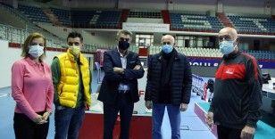 Guidetti'den A Milli Erkek Voleybol Takımı'na ziyaret