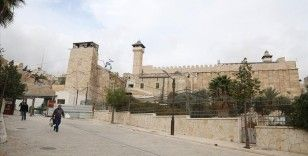 İsrail 2020'de Harem-i İbrahim Camisi'nde ezana 634 kez engel oldu