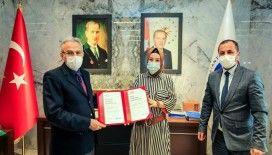 Gaziantep Üniversitesine önemli belge