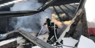 Kayseri'deki fabrika yangını 3 saatte kontrol altına alındı