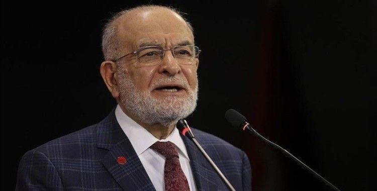 Saadet Partisi Genel Başkanı Karamollaoğlu: Başörtüsü konusunda yapılan zulmü telin etmekle mükellefiz