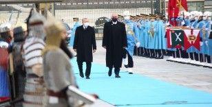 Cumhurbaşkanı Erdoğan, Arnavutluk Başbakanını resmi törenle karşıladı