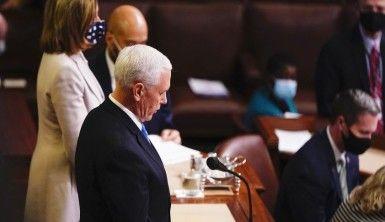 ABD Kongresi Biden'ın seçim zaferini onayladı