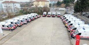 Bursa'ya 18 yeni ambulans