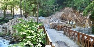 Sümela Manastırı ve Altındere Vadisi yeni turizm sezonuna hazırlanıyor