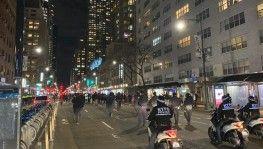 ABD'deki Protestolara New York'tan tepki
