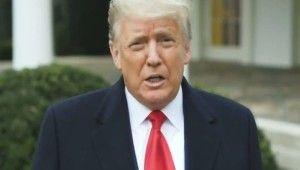 ABD Başkanı Trump'tan açıklama