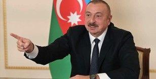 Azerbaycan Cumhurbaşkanı Aliyev, Dağlık Karabağ'a ziyaret hususunda Ermenistan'ı uyardı