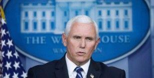 ABD Başkan Yardımcısı Mike Pence'den çıkan olaylar sonrası açıklama