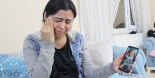 Ayrıldığı eşi tarafından çocuğu kaçırılan annenin feryadı