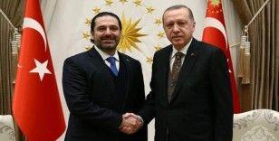 Erdoğan, Lübnan'da hükümeti kurmakla görevlendirilen Saad Hariri'yi kabul etti