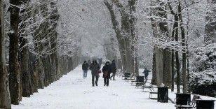 İspanya kar fırtınasına teslim oldu