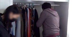 Şanlıurfa'da FETÖ firarisi kadın saklandığı evdeki gizli bölmede yakalandı