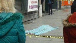 İstanbul'un göbeğinde feci ölüm