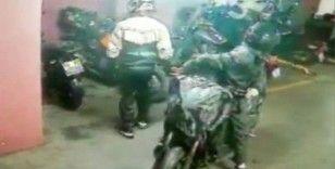 Şişli'de motosiklet hırsızlığı kameralarda