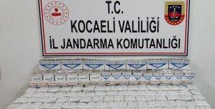 Kocaeli'de 13 bin 660 adet makaron ele geçirildi