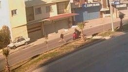 Kısıtlamada polisten kaçarken yaşlı adama böyle çarptı