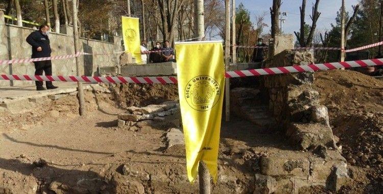 Diyarbakır'da Sultan 1'inci Kılıçarslan'ın mezar aramalarında kalıntılar bulundu