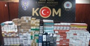 Adana'da kaçakçılık operasyonu