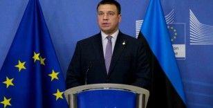 Estonya Başbakanı Ratas'tan istifa kararı