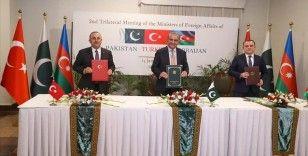 Türkiye, Azerbaycan ve Pakistan'dan birçok alanda iş birliğini derinleştirecek 'İslamabad Deklarasyonu'