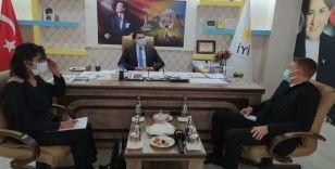 Avustralya Büyükelçisi Marc Innes-Brown İYİ Parti Diyarbakır İl Başkanlığı ziyaret etti