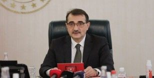 Enerji ve Tabii Kaynaklar Bakanı Fatih Dönmez enerji tasarrufuna dikkat çekti