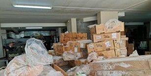 Bodrum'da son kullanma tarihi geçmiş 700 kilo et ele geçirildi