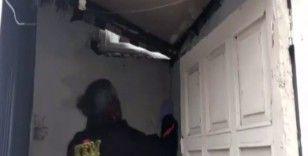 Polis evin gizli bölmelerindeki zehri böyle buldu