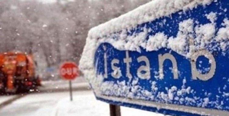 İstanbul'da kar yağışı yarın başlayacak