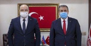 Anavatan Partisi Genel Başkanı Çelebi'den Destici'ye ziyaret