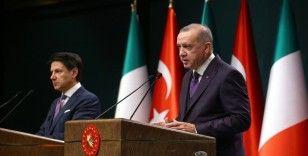 Cumhurbaşkanı Erdoğan, İtalya Başbakanı Conte ile telefonda görüştü