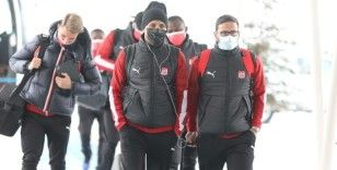 Sivasspor, İstanbul'a ulaştı
