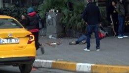 Taksim Meydanı'nda bayılma numarasıyla duygu sömürüsü kamerada