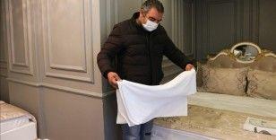 Soğuk havanın etkili olduğu İstanbul'da evsiz vatandaşlar otellerde misafir ediliyor