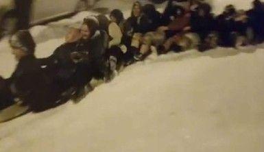 Bursa'da kar çılgınlığı