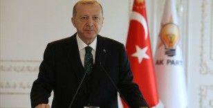 Cumhurbaşkanı Erdoğan: Ülkemizin ve milletimizin geleceği için vizyonu, hedefleri, projesi olan tek parti biziz