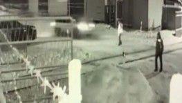 Rusya'da hızla giden araç demiryolu işçisine çarptı