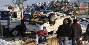 Kaybolan doktorun cesedinin ardından aracı da çıkarıldı