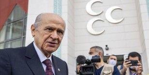 MHP Lideri Bahçeli: 'Serok Ahmet ümidini dış güçlere bağlamasın, Kobani'ye selam gönderdiği yıllar geride kalmıştır'