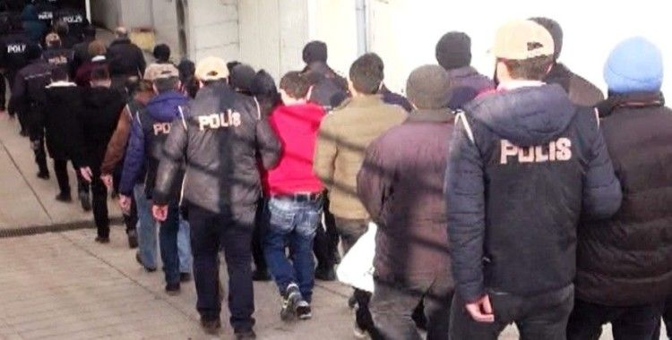 İzmir'de organize suç örgütüne operasyon: 43 kişiye gözaltı kararı