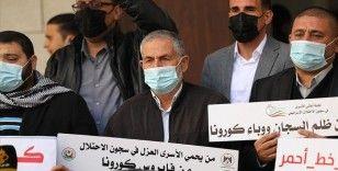 İsrail hapishanelerindeki Filistinlilere yönelik 'kasıtlı tıbbi ihmal' protesto edildi