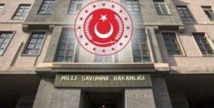 MSB: 'Barış Pınarı bölgesinde 3 PKK/YPG'li terörist etkisiz hale getirildi'