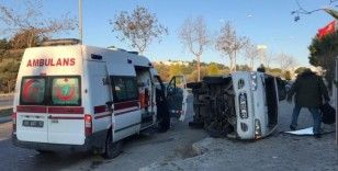 Kuşadası'nda trafik kazası: 2 yaralı